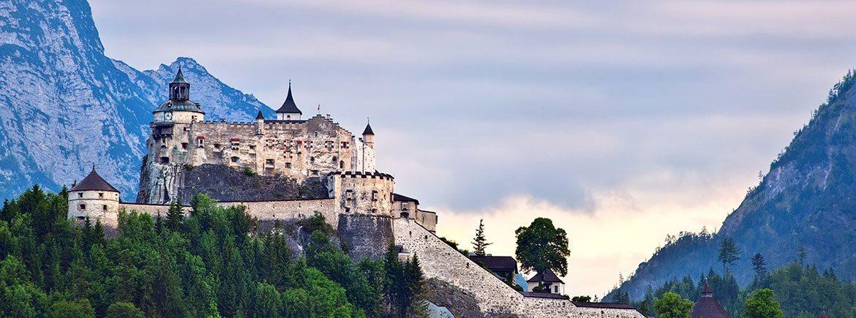 Ausflugsziele im Salzburger Land - Familienbauernhof Nöglhof in Radstadt - Burg Hohenwerfen