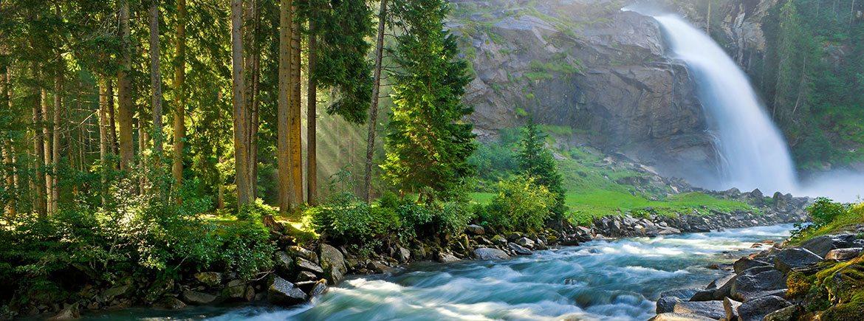 Ausflugsziele im Salzburger Land - Familienbauernhof Nöglhof in Radstadt - Krimmler Wasserfall