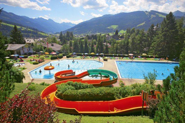 Alpenschwimmbad Radstadt - Sommerurlaub & Wanderurlaub in Radstadt – Bauernhofurlaub in Radstadt am Familienbauernhof Nöglhof