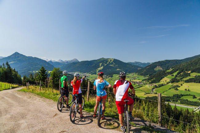Biken - Sommerurlaub & Wanderurlaub in Radstadt – Bauernhofurlaub in Radstadt am Familienbauernhof Nöglhof
