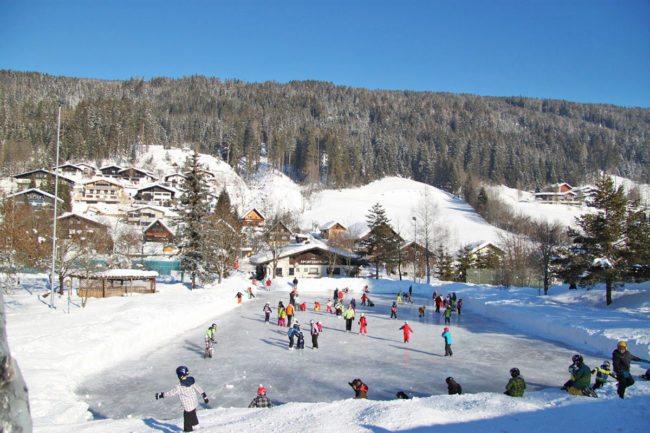 Eislaufen – Winterurlaub & Skiurlaub im Ski amadé - Bauernhof Nöglhof in Radstadt