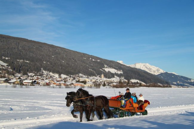 Pferdeschlittenfahrten – Winterurlaub & Skiurlaub im Ski amadé - Bauernhof Nöglhof in Radstadt