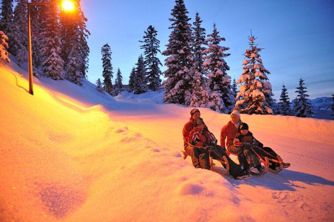 Rodeln – Winterurlaub & Skiurlaub im Ski amadé - Bauernhof Nöglhof in Radstadt